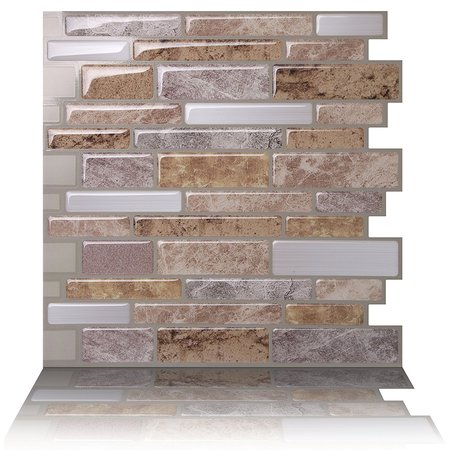 - Tic Tac Tiles - Premium Anti Mold Peel and Stick Wall Tile Backsplash in Polito Fresco
