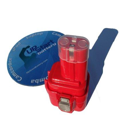 2-Pack Makita 9120 Battery - Replacement Makita 9.6V Battery (1300mAh, (Makita Contractor)