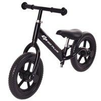 Goplus 12'' Balance Bike Classic Kids No-Pedal Learn To Ride Pre Bike w/ Adjustable Seat