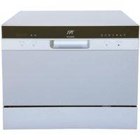 Sunpentown Delay Start Countertop Dishwasher, 2220 Series, Silver