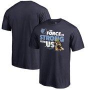 af2aec3bc Memphis Grizzlies Fanatics Branded Star Wars Jedi Strong T-Shirt - Navy