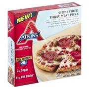 Atkins™ Stone Fired Three Meat Pizza 5.80 oz. Box