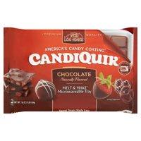 (2 Pack) Log House Chocolate CandiQuik Coating 16 oz