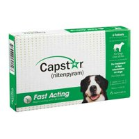 Capstar Oral Flea Treatment for Large Dogs, 6 Tablets