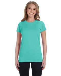 LAT Ladies' Junior Fit Fine Jersey T-Shirt