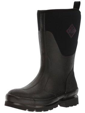 Muck Boot Women's Chore Mid Snow Boots Black Neoprene Rubber 8 M