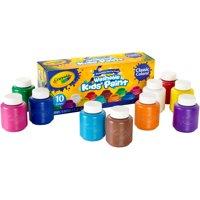 Crayola Washable Kids Paint, 2oz. Bottles, 10 Count