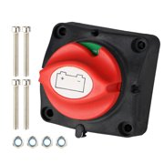 tsv car suv rv marine boat 12v battery isolator disconnect rotary switch  cut on/off
