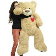 e5dddfbbd40 Giant 5 Foot Teddy Bear 60 Inch Valentine s Day Soft Plush Animal