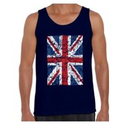 0daebaaa6a8f Awkward Styles British Flag Tanks for Men Britain Lovers Tank Top for Him  New England T