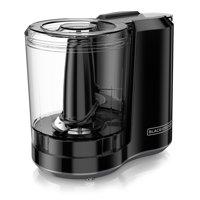 BLACK+DECKER FreshPrep 3-Cup Electric Food Chopper, Black, HC300B