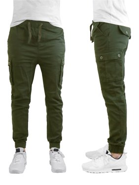 Men's Stretch Cargo Jogger Pants