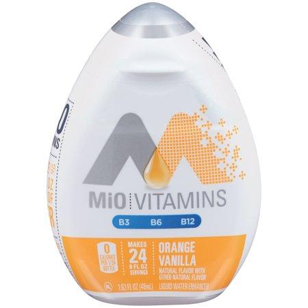 MiO Orange Vanilla Liquid Water Enhancer , Caffeine Free, 1.62 fl oz - Sustain Enhancer