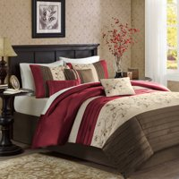 Home Essence Monroe 7 Piece Embroidered Comforter Set