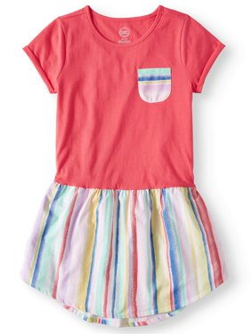 Casual Printed T-Shirt Dress (Little Girls & Big Girls, Plus)