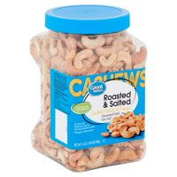 Great Value Roasted & Salted Cashew Halves & Pieces, 24 oz