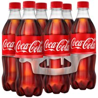 (4 Pack) Coca-Cola Soda, 16.9 Fl Oz, 6 Count