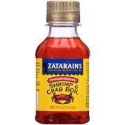 (2 Pack) Zatarain's Concentrated Shrimp & Crab Boil, 4 fl oz
