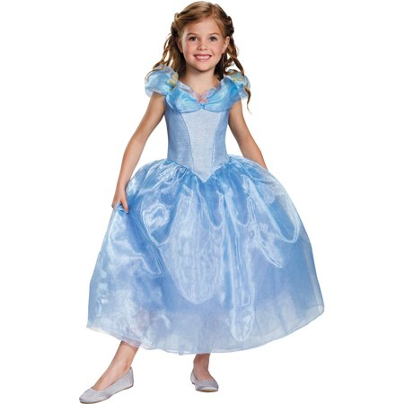 Cinderella Movie Deluxe Child Halloween Costume (Female Border Patrol Halloween Costume)