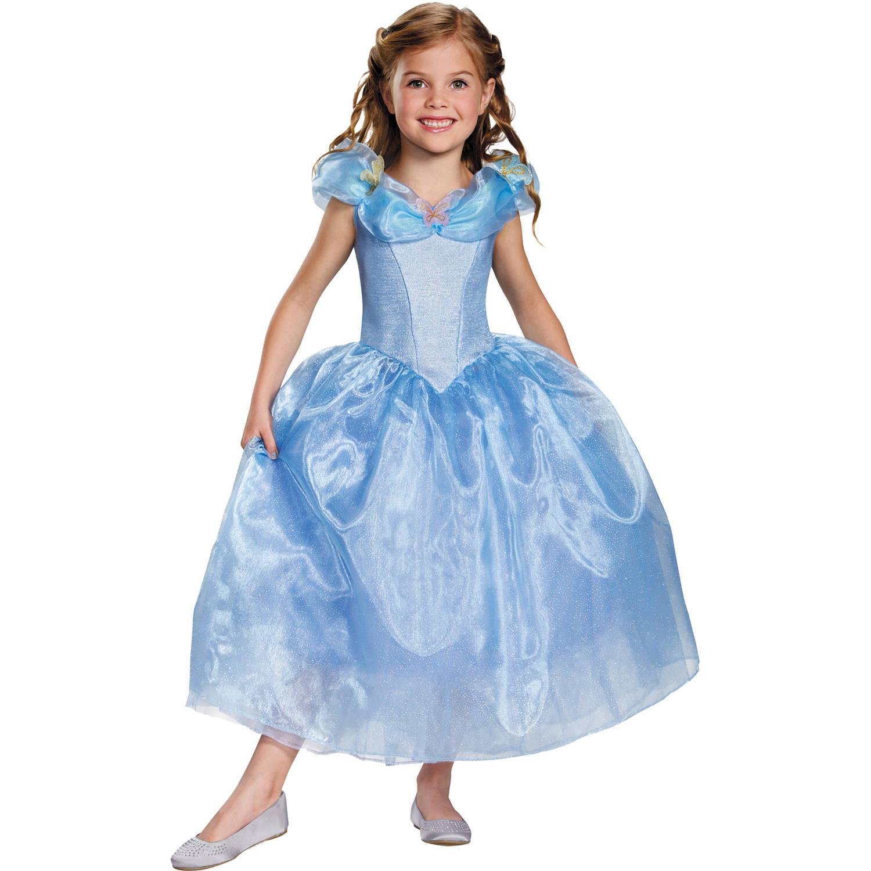 Lovely Cinderella Movie Deluxe Child Halloween Costume