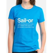9573e4af73d891 CafePress - U.S. Navy Sailor - Women s Dark T-Shirt