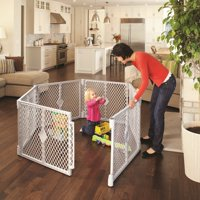 North States 6 Panel Superyard Portable Indoor Outdoor Playard