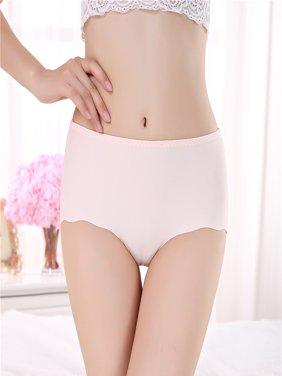 3Pack Women's Sexy Seamless Soft Lingerie Briefs Underwear Panties Underpants