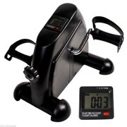 Mini Exercise Bike Pedal Exerciser Cycle Exercise Bike Indoor Fitness With LCD Display