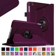 Fintie iPad mini 4 Case 2015 - 360 Degree Rotating Stand Cover with Auto Sleep / Wake, Purple