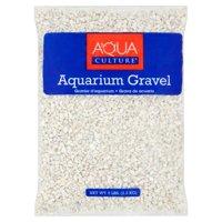 (2 Pack) Aqua Culture White Aquarium Gravel, 5 lb