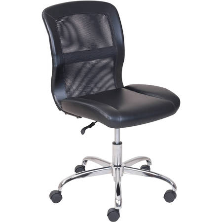 Mainstays Vinyl and Mesh Task Office Chair, Multiple Colors Array Small Back Chair