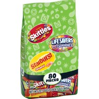 Skittles, Starburst, & Life Savers Fun Size Fruity Candy Variety Mix, 22.7 Oz., 80 Count