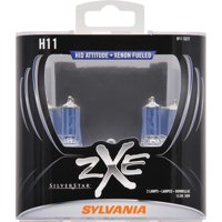 SYLVANIA H11 SilverStar zXe Halogen Headlight Bulb, Pack of 2