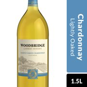 Woodbridge by Robert Mondavi Lightly Oaked Chardonnay, White Wine, 1.5 L Bottle