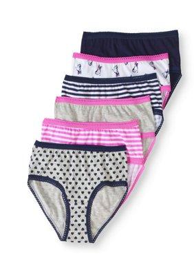 Cherokee Girls' 6-Pack Hipster Underwear