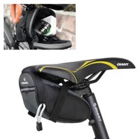 Outdoor Bike Bicycle Cycling Saddle Bag Tail Rear Pouch Strap-On Seat StorageBag