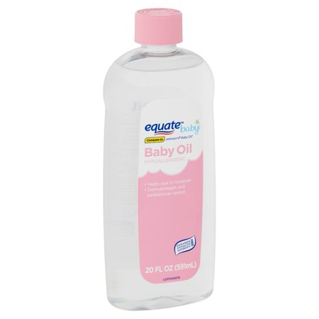 Equate Baby Hypoallergenic Baby Oil, 20 fl oz