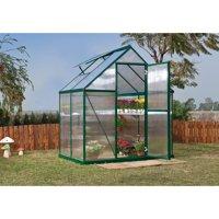 Palram Mythos Greenhouse - 6' x 4' - Green