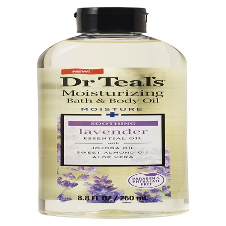 Fl Oz Body Oil - Dr Teal's Soothe & Sleep with Lavender Body and Bath Oil, 8.8 fl oz