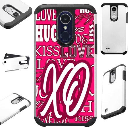 Fusion Guard (FusionGuard Phone Case Cover For LG Stylo 4 | Stylo 4 Plus | Q Stylus Q Plus Q Alpha (XO Pink Love))