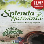 (160 Packets) Splenda Naturals Stevia Sweetener Packets