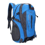 17f3acba3c 40L Waterproof Hiking Backpack Shoulder Bag for Outdoor Sports Camping  Climbing Hiking Travelling Blue