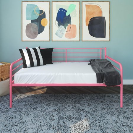 DHP Contemporary Metal Daybed Frame, Multiple (Girls Daybeds)