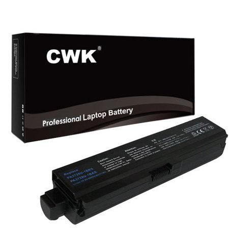 CWK® 12 Cell 8800mAh High-Capacity Battery for Toshiba Satellite L755 L755D L770 L770D PA3817U-1BRS L770 L770D L775 L750 L750D L750D-14R L740 L745 L745D L755 L755D L755-S524 L700 L730 L735 L740