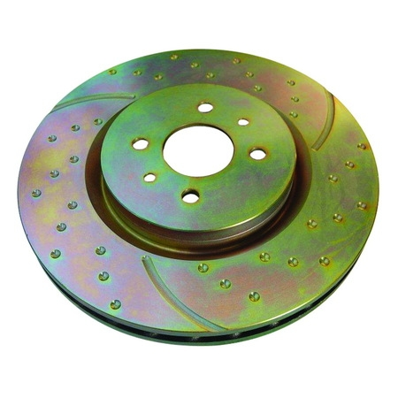 Audi A6 Quattro Front Rotors - EBC 02-04 Audi A6 Quattro 2.7 Twin Turbo Sedan (8 Pad Set) GD Sport Front Rotors