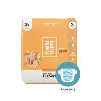 Hello Bello Diapers Jumbo Pack - Rainy Days - Size 3 (28ct)