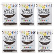 (6 Pack) Wilton Dark Cocoa Candy Melts Candy, 12 oz.
