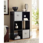 Mainstays 6 Cube Storage Organizer, Multiple Colors