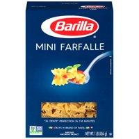 (4 pack) Barilla Pasta Mini Farfalle, 16 Oz