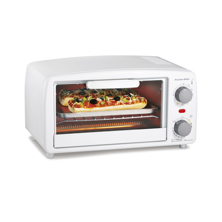 White Oven (Proctor Silex Toaster Oven and Broiler | Model# 31116)